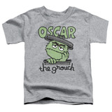 Sesame Street Canned Grouch Toddler T-Shirt Athletic Heather