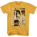 Bruce Lee Casual Smiling Ginger Adult T-Shirt