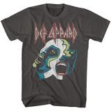 Def Leppard Hysteria Smoke Adult T-Shirt