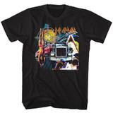 Def Leppard Jumble Black Adult T-Shirt