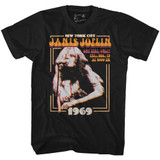 Janis Joplin New York Black Adult T-Shirt