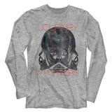 Journey Frontiers Gray Heather Adult Long Sleeve T-Shirt