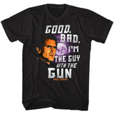 Army of Darkness Good Bad Black Adult T-Shirt