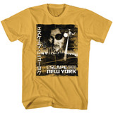 Escape From New York Worn Japanese Poster Ginger Adult T-Shirt