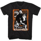 Halloween Halloween Mess Black Adult T-Shirt