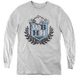 Beverly Hills 90210 WBHH Youth Long Sleeve T-Shirtathletic Heather