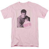 Beverly Hills 90210 David Adult 18/1 T-Shirt Pink