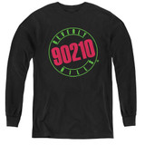 Beverly Hills 90210 Neon Youth Long Sleeve T-Shirtblack