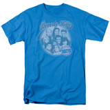 Beverly Hills 90210 Circle Of Friends Adult 18/1 T-Shirt Turquoise