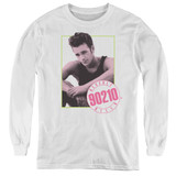 Beverly Hills 90210 Dylan Youth Long Sleeve T-Shirt White
