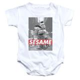 Sesame Street Sesame Baby Onesie T-Shirt White