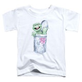 Sesame Street About That Street Life Toddler T-Shirt White