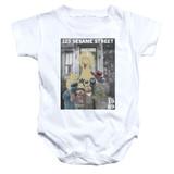 Sesame Street Best Address Baby Onesie T-Shirt White