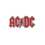 AC/DC Enamelled Logo Pin Badge by Alchemy of England