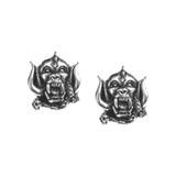 Motorhead Warpig Studs Earrings by Alchemy of England