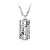 Judas Priest Razorblade Pendant by Alchemy of England