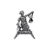 Metallica Justice For All Pin by Alchemy of England