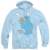 Sesame Street Freshly Baked Adult Pullover Hoodie Sweatshirt Light Blue