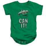 Sesame Street Can It Baby Onesie T-Shirt Kelly Green