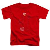 Sesame Street Elmo Loves You Toddler T-Shirt Red