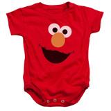 Sesame Street Elmo Face Baby Onesie T-Shirt Red
