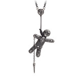 Voodoo Doll Pendant by Alchemy of England