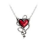 Devil Heart Pendant by Alchemy of England