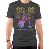 AC/DC On Fire Adult T-Shirt