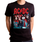 AC/DC Highway Adult T-Shirt Black