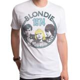 Blondie 1974 Adult T-Shirt White