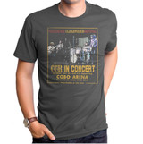 Creedence Clearwater Revival CCR Concert Adult T-Shirt Titanium
