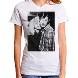 David Bowie and Debbie Harry Junior Women's T-Shirt White