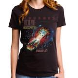 Journey Escape Tour Junior Women's T-Shirt Black