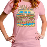 The Beatles Magical Mystery Tour Junior Women's T-Shirt Dusty Pink