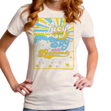 The Beatles Lucy In The Sky Junior Women's T-Shirt Off White