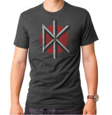 Dead Kennedys Adult T-Shirt Charcoal