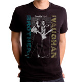 Stevie Ray Vaughan Family Style Adult T-Shirt Black