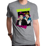 Wham Careless Whisper Adult T-Shirt Dark Heather Grey