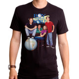 Boy Meets World Poster Adult T-Shirt Black