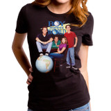 Boy Meets World Poster Junior Women's T-Shirt Black