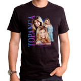 Boy Meets World Topanga Fever Adult T-Shirt Black
