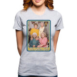 Golden Girls Junior Women's T-Shirt Heather Grey