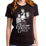 Golden Girls Mono Junior Women's T-Shirt Black