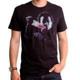 Halloween Mask Adult T-Shirt Black