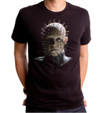 Hellraiser Pin Head Adult T-Shirt Black