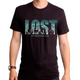 Lost Live Together Adult T-Shirt Black