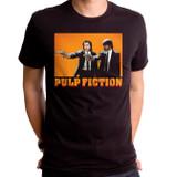 Pulp Fiction Comic Adult T-Shirt Black