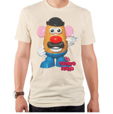 Toy Story Mr. Potato Head Adult T-Shirt Off White