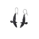 Black Raven Earrings by Alchemy of England