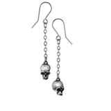 Deadskulls Earrings by Alchemy of England